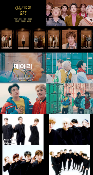 NCT 127,以正规2辑收录曲《Elevator (127F)》、《回响》、《Dreams Come True》